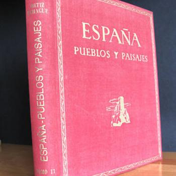 Spain - ESPAÑA PUEBLOS Y PAISAJES - 312 plates 1950
