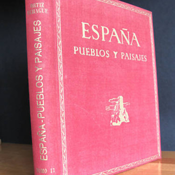 Spain - ESPAÑA PUEBLOS Y PAISAJES - 312 plates 1950 - Books