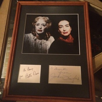 What Ever Happened To Baby Jane Autographed Photo