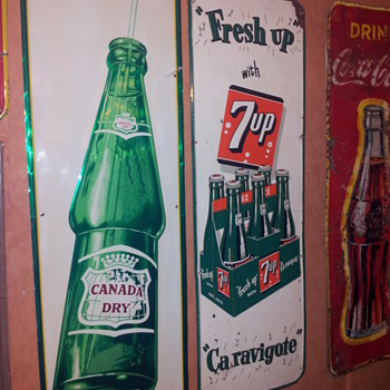 Canada Dry Vertical Sign - Coca-Cola