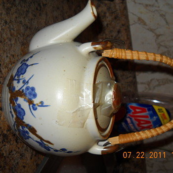 Vintage signed TEAPOT - Kitchen