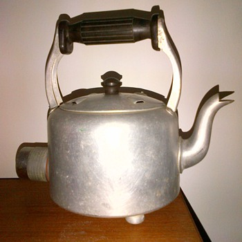 Vintage Aluminium Electric kettle - Kitchen