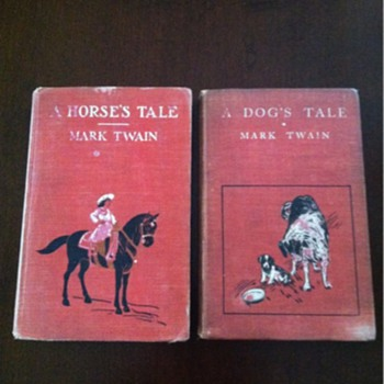A Horse's Tale and a Dog's Tail by Mark Twain - Books