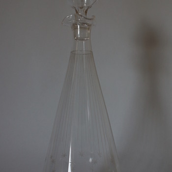 Conical Shooting Stars Decanter - Bottles