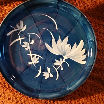 Blue and White Arita/Imari Round Plates