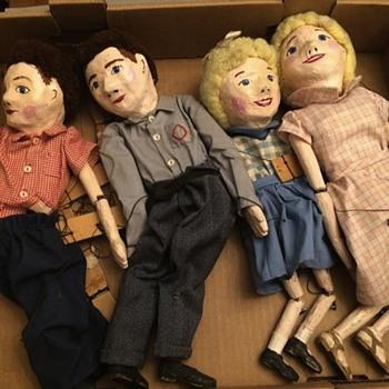 Vintage Marionettes - Toys