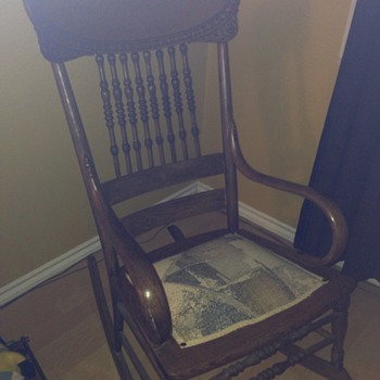 My old family rocking chair - Furniture