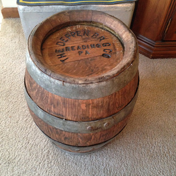 Deppen Brewing Company 1/4 Keg Beer Barrel