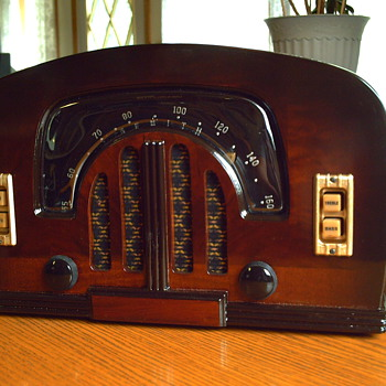 1942 zenith 6d2615 am radio