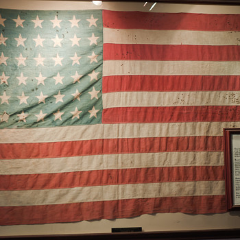 Private Dallas Claude Fleming&#039;s American Flag - Military and Wartime