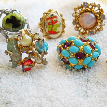 COSTUME RING LOT - Costume Jewelry