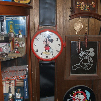 Mickey Giant Wristwatch Clock - Clocks