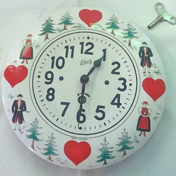 Hand Painted Schatz  - Clocks