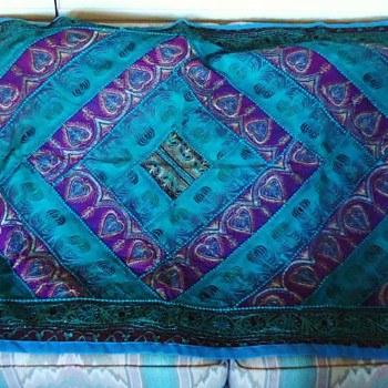 fabric, for wall?  from? India? Iran? Handmade?