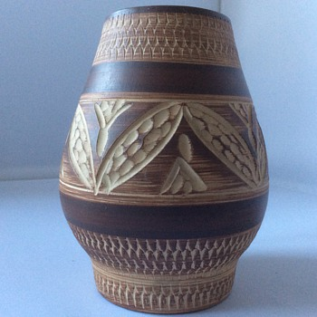 Vintage Stoneware vase