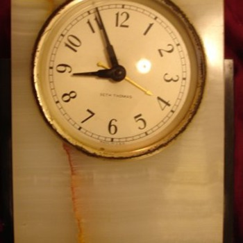 Antique Seth Thomas Table Clock - Clocks