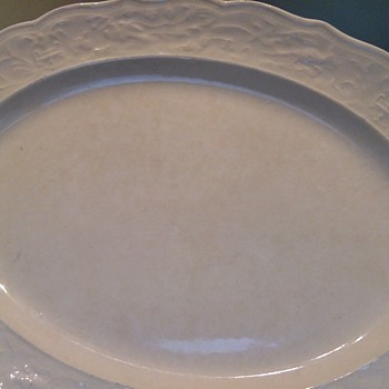 White Serving Platter  - China and Dinnerware
