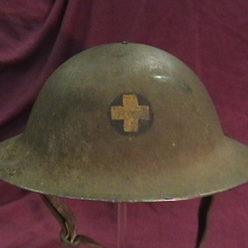 U.S. Army WW I  M-1917 Doughboy Helmet