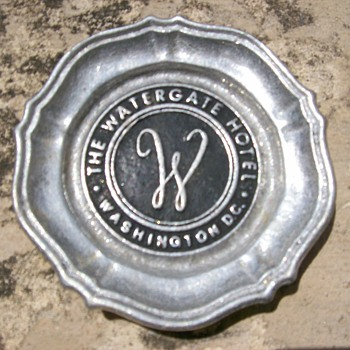 Watergate Hotel Ashtray