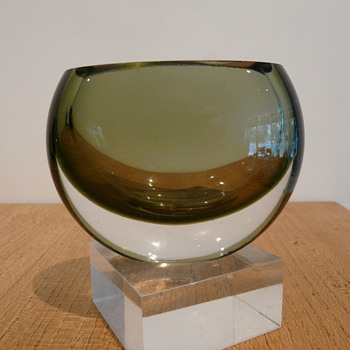 TAPIO WIRKKALA VASE 3304 - Art Glass