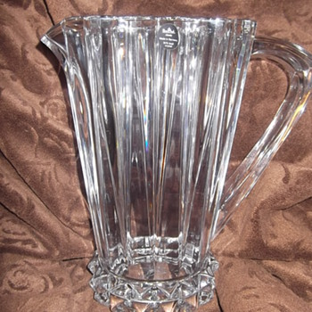 Rosenthal Crystal  Pitcher