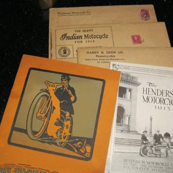1913 Motorcycle Catalogs - Motorcycles