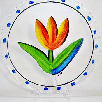 ULRICA VALLIEN FOR KOSTA BODA - SWEDEN - Art Glass