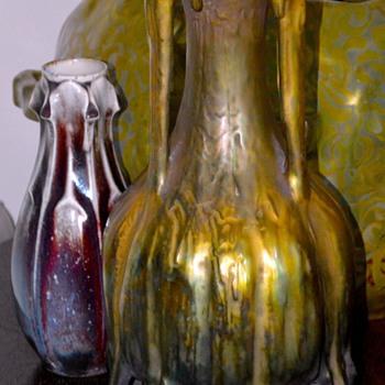 Eduard Stellmacher, Amphora EDDA 1900 - Art Nouveau