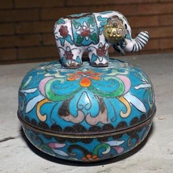 Ardleigh-Elliott Cloisonne Elephant Music Box - Music