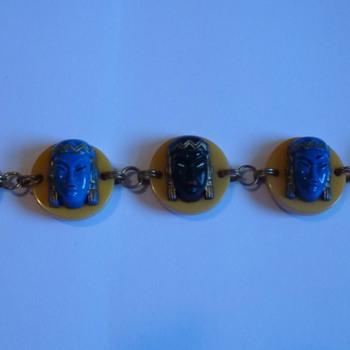 Bakelite bracelet - Costume Jewelry