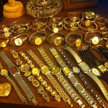 vintage watches etc