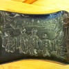 An asian relief tray