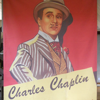 """Monsieur Verdoux"" trompe l'oleil/ mural 9'x12' canvass - Posters and Prints"
