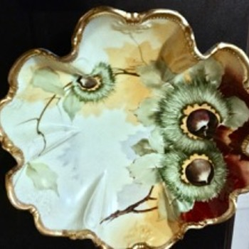 Nippon Morimura Fluted and Footed Bowl