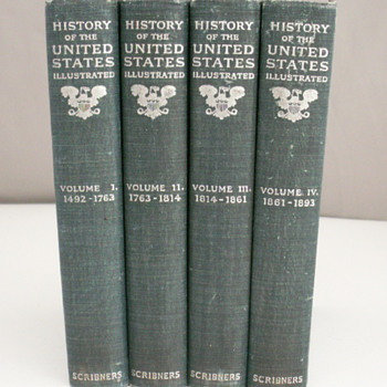 History of the United States Illustrated Schribners - Books