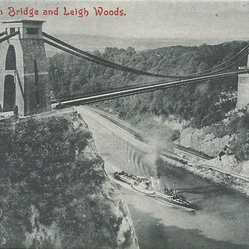 CLIFTON BRIDGE AND LEIGH WOODS.
