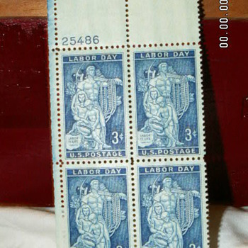 1956 Labor Day 3¢ Stamp