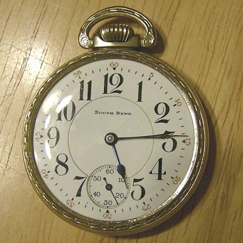 1920 South Bend Pocket Watch - Pocket Watches