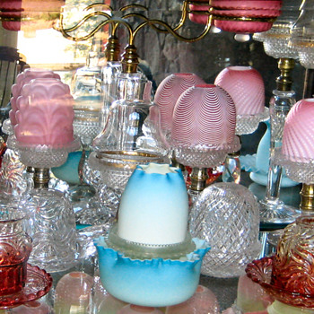 Fairy Lamps - A seemingly infinite variety - Art Glass