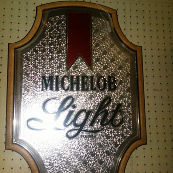 michelob light sign - Signs