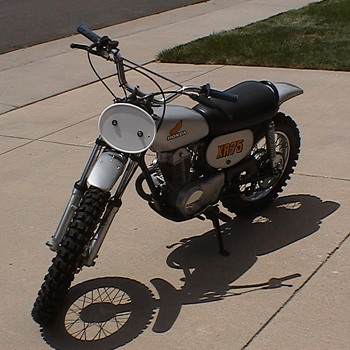 Recently restoring this 1974 Honda XR 75.  Pictures taken 8/1/2010 - Motorcycles