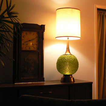Green Spaghetti Table Lamp