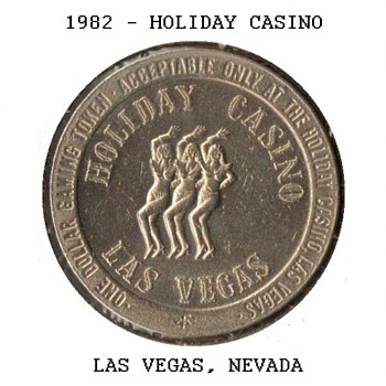 Holiday Casino - $1 Gaming Token - Games