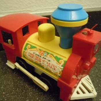 Fisher-Price Train - 1970s - Model Trains