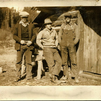 More 1920s eraa Eastern Washington Logging Scenes....