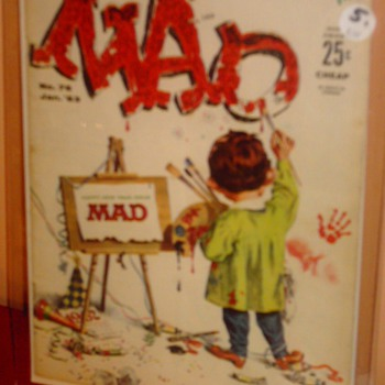 MAD #76, MAD #83, MAD #91, MAD #94 - Comic Books