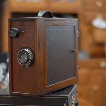 Old box camera