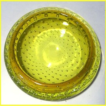 Canary Yellow -- Murano Art Glass Bowl