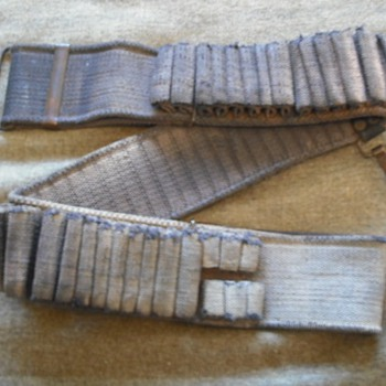 US Mills Model 1894 Mounted Cartridge Belt - Military and Wartime
