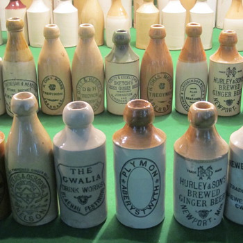 Welsh Ginger Beer Bottles in My collection - Bottles